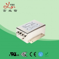 Quality 100A Three Phase Inverter EMI Filter / Power Inverter Noise Filter for sale