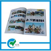 Quality 1 - 4C(CYMK) Color  Commercial Glossy Paper Custom Catalog Printing, Looped String Binding for sale