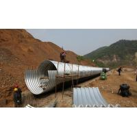 Quality Panel CE Culvert Pipe Making Machine , Wall Sheet Steel Silo Corrugated Roll Forming Machine for sale
