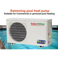 Quality Energy Saving Swimming Pool Heat Pump 3 HP To 25 HP Power Low Noise for sale