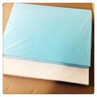 Quality Water Slide Printing Paper 500 * 700 , Blue Good Slip Water Transfer Paper for sale