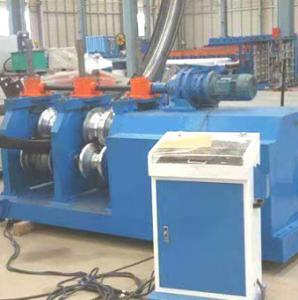 China Guardrail Steel 15KW 3 Roller Plate Bending Machine on sale