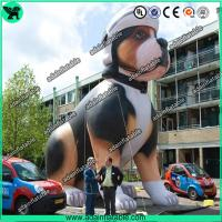 Quality High Quality Custom Made Advertising Inflatables , Lovely Puppy Inflatable Dog for sale