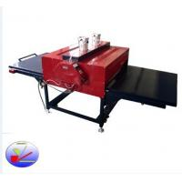 China Max width pneumatic double sublimation heat prees machine  for coth printing (FZLC-B4) on sale
