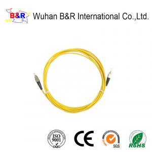 Quality FC 9/125um 3m G652D Fiber Optic Patch Cord for sale