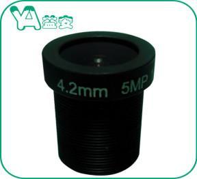 Quality Security Camera Focal Length 4.2mm Lens , CCTV Camera Lens For Home Security for sale