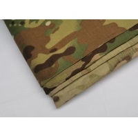 Quality Garment Knitted Camo Print Cotton Fabric Anti Tear Cloth for sale