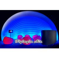 Hot White Tent Inflatable Pod with Lights for Exhibition and Conference Communications