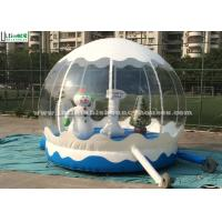 China Outdoor Bounce House Snowman Inflatable Kids JumpingBouncer for Garden wholesale