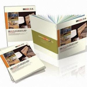 China Digital Professional Flyers / Brochure / Photo Book / Custom Magazine Printing with Glossy Stock, Matt Stock on sale
