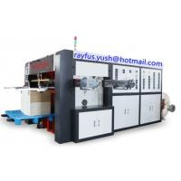 Quality High Speed Paper Cup Manufacturing Machine / Automatic Paper Cup Flatbed Die Cutter for sale