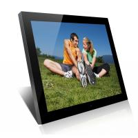 Quality Acrylic 19 Inch High Resolution Digital Picture Frame With Clock And Calendar for sale
