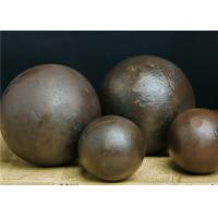 Quality Wear Resistant Ball Mill Balls , 20mm - 150mm Grinding Balls For Ball Mill for sale
