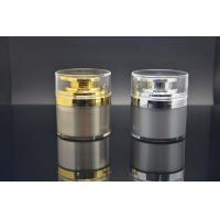 Quality Airless Bottle Acrylic Cosmetic Containers And Packaging For Makeup , Customized for sale