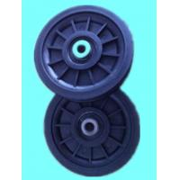 Quality 90mm red metal pulleys for sale