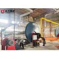 Quality Energy - Saving 15 Ton Gas Steam Boiler Fire Tube Design Automatic Running for sale