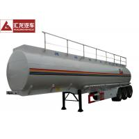 Quality Heavy Oil Fuel Tank Trailer Widely Used To Transport , Tractor Trailer Fuel Tank for sale
