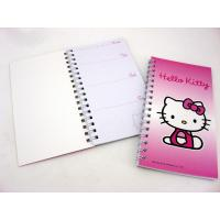Quality 200 Page A6 Spiral Bound Book Printing Cartoon Design for sale