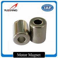 Quality Permanent Segment Custom Made Magnets High Efficiency For DC Motor Generator for sale