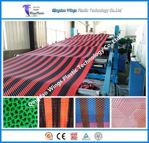 Quality Plastic PVC Anti-Slip Matting Roll Production Line Plastic Mat Extruder Machine for sale