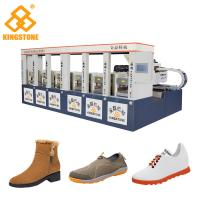 Buy Single / Double Color Rubber Sole Making Machine for Men Leisure Shoes Sandals at wholesale prices