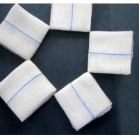Quality Medical Gauze Pad Sterile Lap Sponges Cotton Hith Tearing Strength Flexible for sale