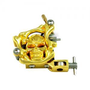Quality Portable Fashion design gold 3 Needles mini tattoo machine Gun for sale