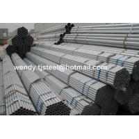 Quality NO SOCKED BS1387 THREAD HOT DIP GALVANIZED STEEL PIPE 6-12M factory for sale