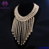 Buy cheap Fashion Jewelry Elegant Design Filled Fish Scale Pendant Necklace Collar from wholesalers