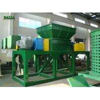 Quality PE PP Plastic Pipe Wood Pallet Shredder Microcomputer Automatic Control for sale