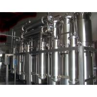 Quality GMP Certified Water Purification Machine WFI Plant 0.88Mpa Designing Pressure for sale