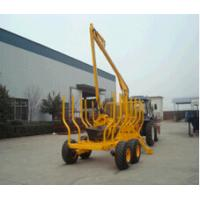 China ATV Timber Trailer/Wood Trailer/Log Trailer with Crane LT3000 on sale