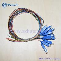 Buy cheap 12 Pack of SC Fiber Optic Pigtail 0.9mm SM SC Fiber Pigtails from wholesalers