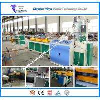 Quality Plastic Single Wall Corrugated Pipe Extrusion Line Machinery Corrugated Pipe Plastic Manufacture Machinery for sale