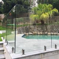 Quality High Quality Tempered Glass Swimming Pool Fence Philippines Price for sale