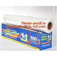 Quality Newly design household food grade excellent quality factory price cling film, pe food plastic wrap for sale