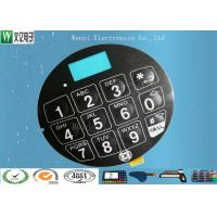 Quality Blue LCD Window FPC Membrane Switch With 3M468 Back Adhesive Matte Finish for sale