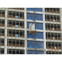 Quality Direct Start Up And Stop 46 M / Min Construction Hoist Elevator for sale
