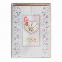 Quality Greeting Card with Delicate Design, All Kinds of Cards are Available for sale