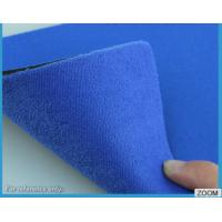 Quality 3MM - 7MM SBR Rubber Chemical Resistance With Shiny Terry Nylon Fabric for sale