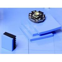 Compressible CPU Thermal Pad for High Speed Mass Storage Drives Blue 5.5 MHz Dielectric Constant