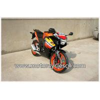 Quality High Performance CBR150 Drag Racing Motorcycles With 4 Stroke Air-cooled Orange for sale