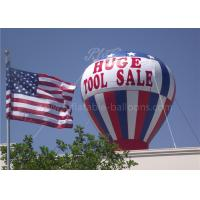 420D Oxford Cloth Inflatable Advertising Balloons , Digital Printing Inflatable Balloon Rentals