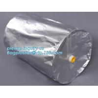 China IBC HIGH-BARRIER FOIL LINER, Aluminum laminated round bottom liners, Rigid Round Bottom Drum Liners, Drum Liner, Drum Li on sale