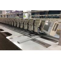 China Efficient Practical Computer Embroidery Machine For Shirts / Wedding Gown on sale