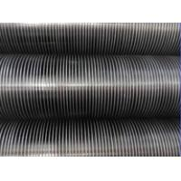 China Stainless steel TP304/304L/TP316/TP316L/AISI 321/AISI 347 Tension Wound KLM LL Type Fin tubes pipes finned tubes pipes on sale