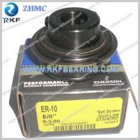 Quality ER-10 SealMaster Mounted Ball Bearing With Extended Inner Ring for sale