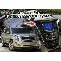 China 2 GB RAM Android navigation box video interface for Cadillac Escalade mirror link on sale