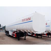 China 45cbm oil tankers truck transport trailer for sale | TITAN on sale