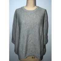 China Loose Fitting Women'S Pullover Sweater , Round Neck Sweater Women'S 7GG on sale